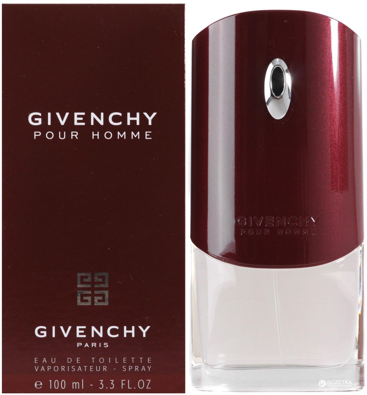 Givenchy Pour Homme мужской купить в украине описание распив